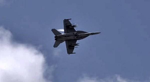 F-18 Farnborough Airshow 2014