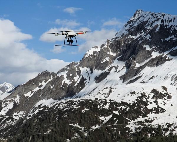 Modelo m4-1000 da Microdrones