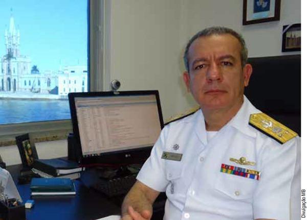 Contra-Almirante Sydney dos Santos Neves, Gerente do empreendimento modular de obtenção dos submarinos convencionais da Coordenadoria-Geral do Programa de Desenvolvimento de Submarino com Propulsão Nuclear (COGESN)