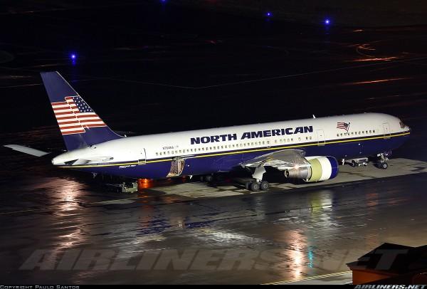 B 767-300 North American]