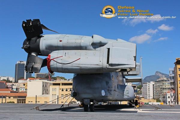 MV-22 Osprey USS America Flight deck