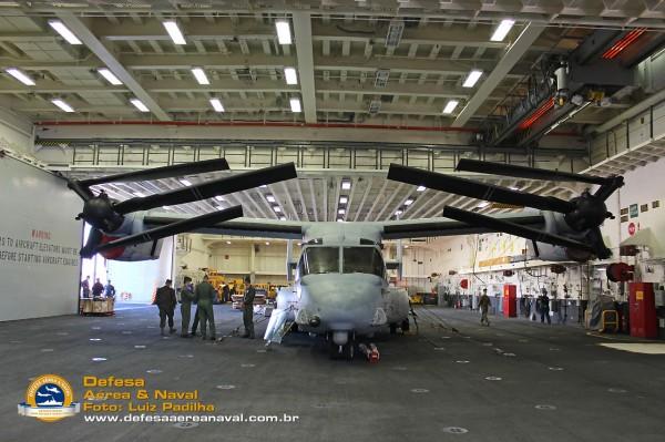 MV-22 Osprey Uss America