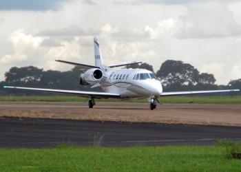 Cessna 560 PR-AFA FOTO: Flickr do Balduino