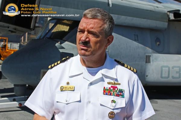 Commanding Officer Robert-A.-Hall-Jr