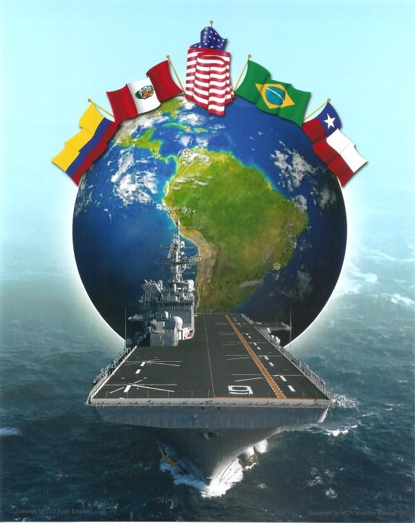 USS America visita as Américas