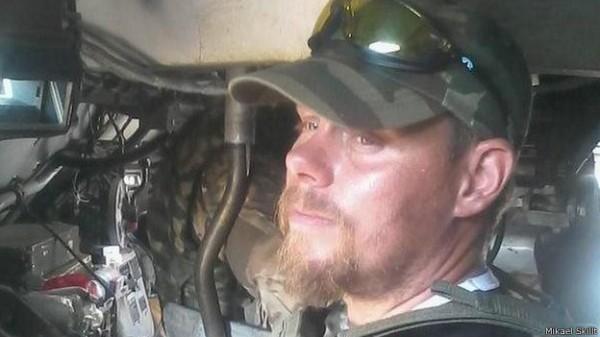 Ao lado do governo ucraniano, sueco diz que está lutando pela 'sobrevivência dos brancos'