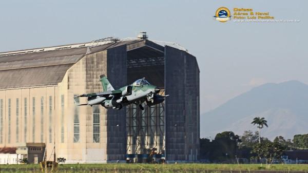 A-1M em voo