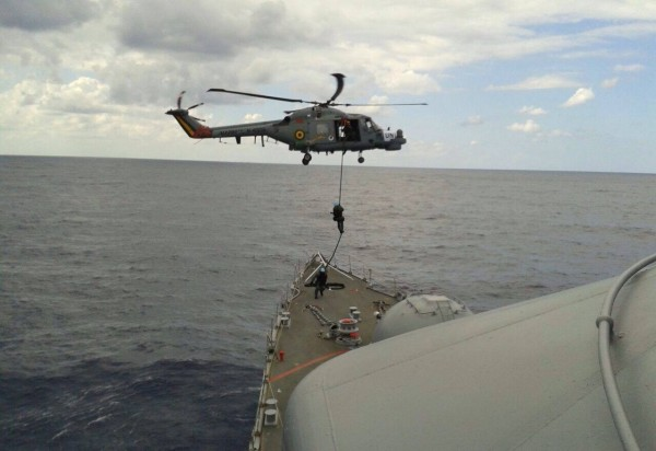 AH-11A Fast Rope