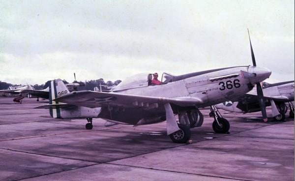 P-51 Mustang - Foto do Autor
