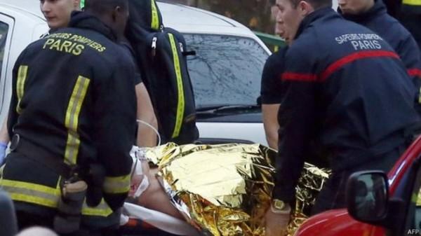 policial tiroteio paris