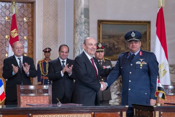 Assinatura contrato Rafale Egito