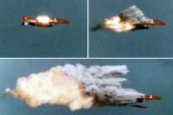 Míssil x caça - Foto us navy