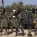 Terroristas do grupo nigeriano Boko Haram são vistos em novo vídeo divulgado na internet(Boko Haram/AFP)