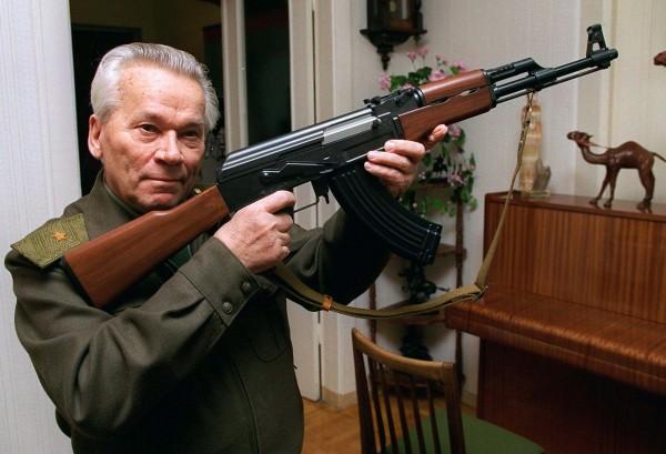 Mikhail Kalashnikov AK-47
