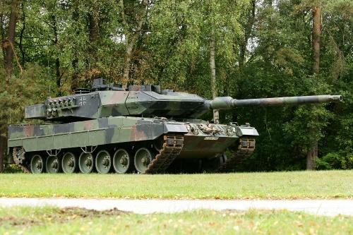 Leopard 2A6 / Foto MO alemão Leopard 2A6 fotos / Foto: MO Alemanha