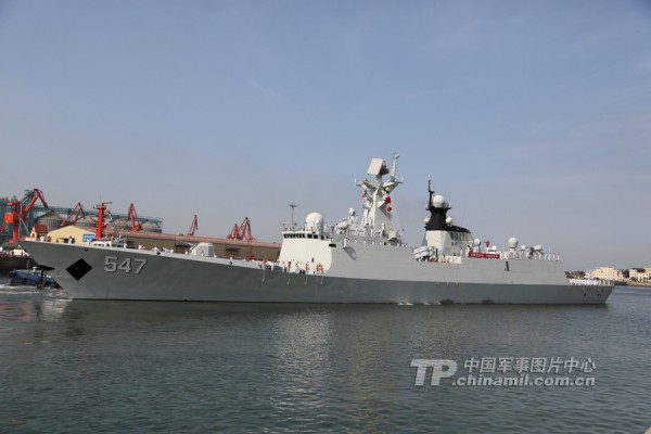 Fragata chinesa Linyi