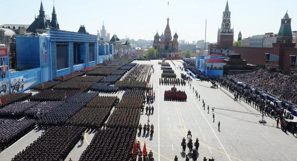 parada em Moscou dia VE
