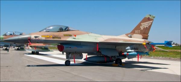 F-16A Israel