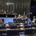 Plenário do Senado durante sessão deliberativa ordinária.  À mesa, senador Jorge Viana (PT-AC) preside a sessão.   Foto: Jefferson Rudy /Agência Senado