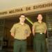 Jackson e Clara foram os primeiros colocados em West Point, academia militar dos EUA - FOTO: Rafael Gomide