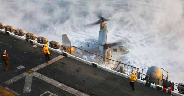 MV-22 USMC crash