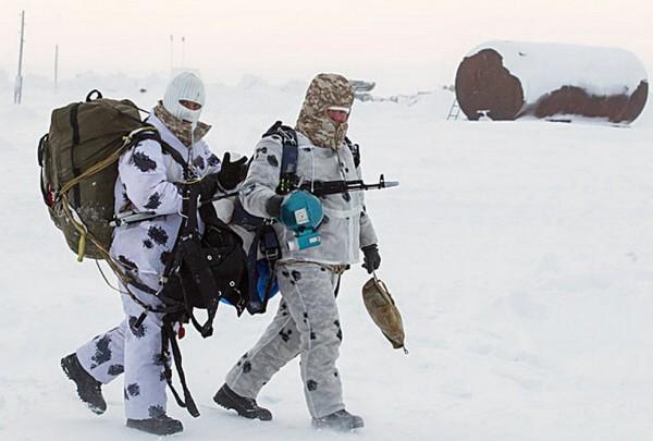 Rússia operando no Ártico