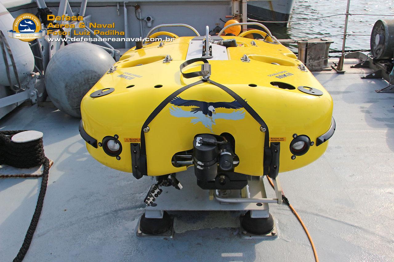Double Eagle II, ROV sa Saab operado pelas marinha da Finlândia no BALTOPS 2020
