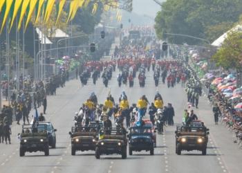 Desfile cívico-militar do 7 de setembro, na Esplanada dos Ministérios, em Brasília (Marcello Casal Jr/Agência Brasill)