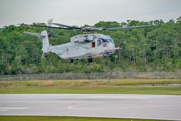 CH-53K First Flight