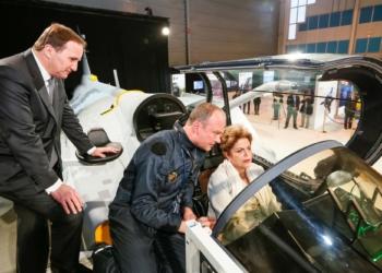 Linköping - Suécia, 19/10/2015. Presidenta Dilma Rousseff durante visita à SAAB. Foto: Roberto Stuckert Filho/PR
