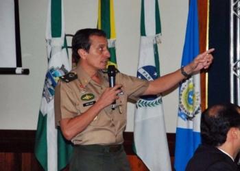 general brasileiro Ajax Porto Pinheiro Foto:  Cabo Valdemir da Luz