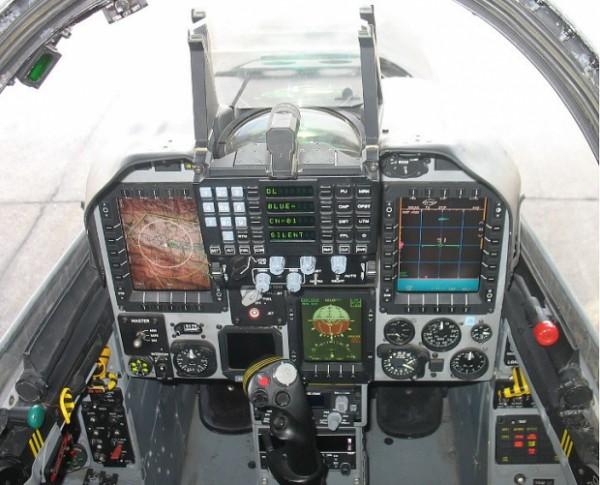 Kfir block 60 cockpit