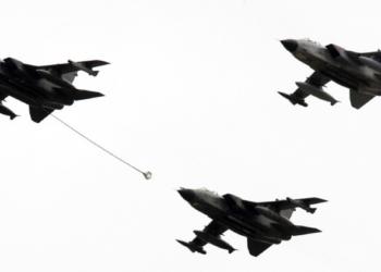 Aviões de reconhecimento Tornado / Reuters / Tobias Schwarz