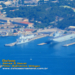 Imagem aérea do TCD Siroco atracado na Base Naval de Toulon.