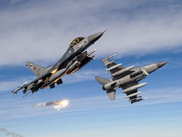 F-16CD Fighter Jets of the Turkish Air Force