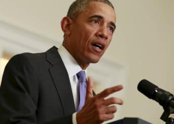 Barack Obama discursa na Casa Branca sobre o acordo nuclear do Irã - YURI GRIPAS / REUTERS