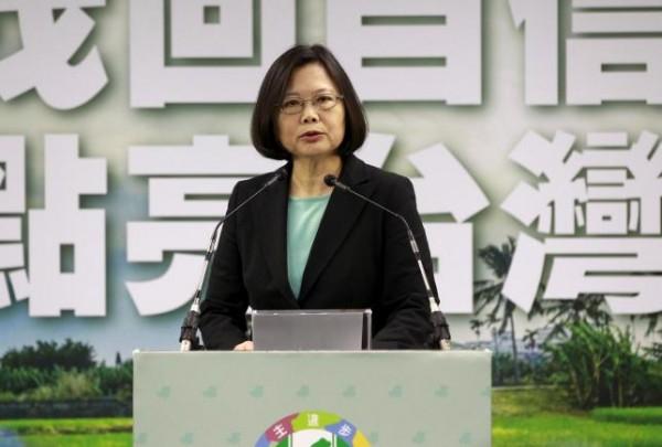Tsai Ing-wen  presidente de Taiwan - REUTERS/Pichi Chuang