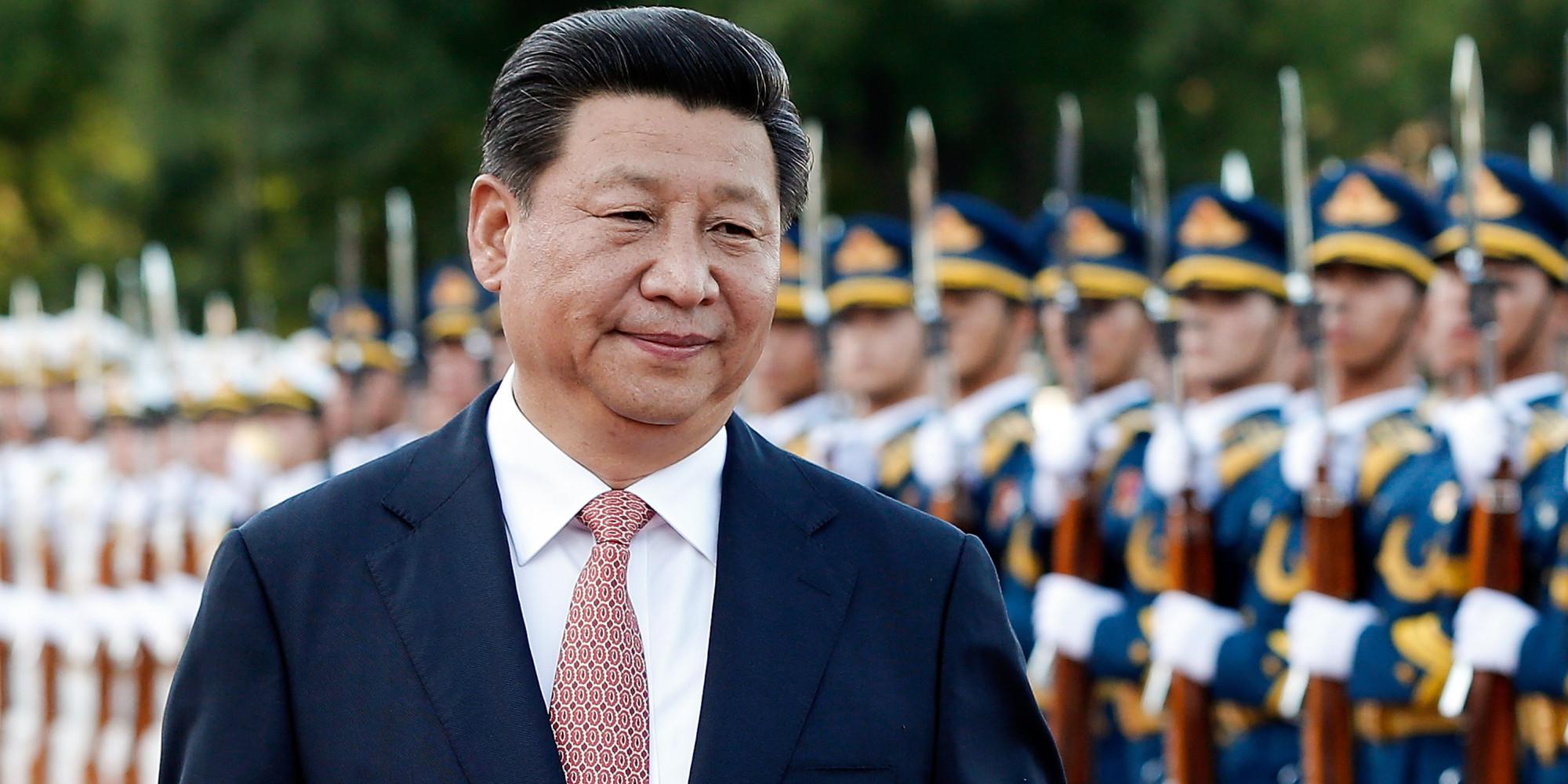 Presidente Xi Jinping Foto Lintao Zhang