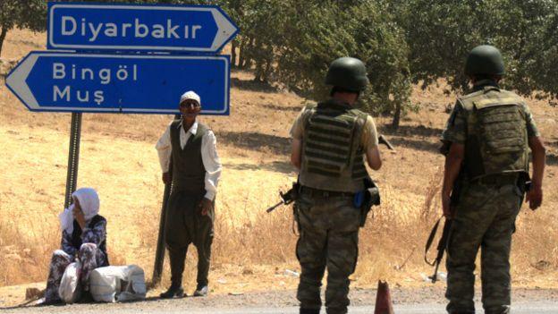 A tensão na Turquia entre turcos e curdos aumentou desde meados de 2015