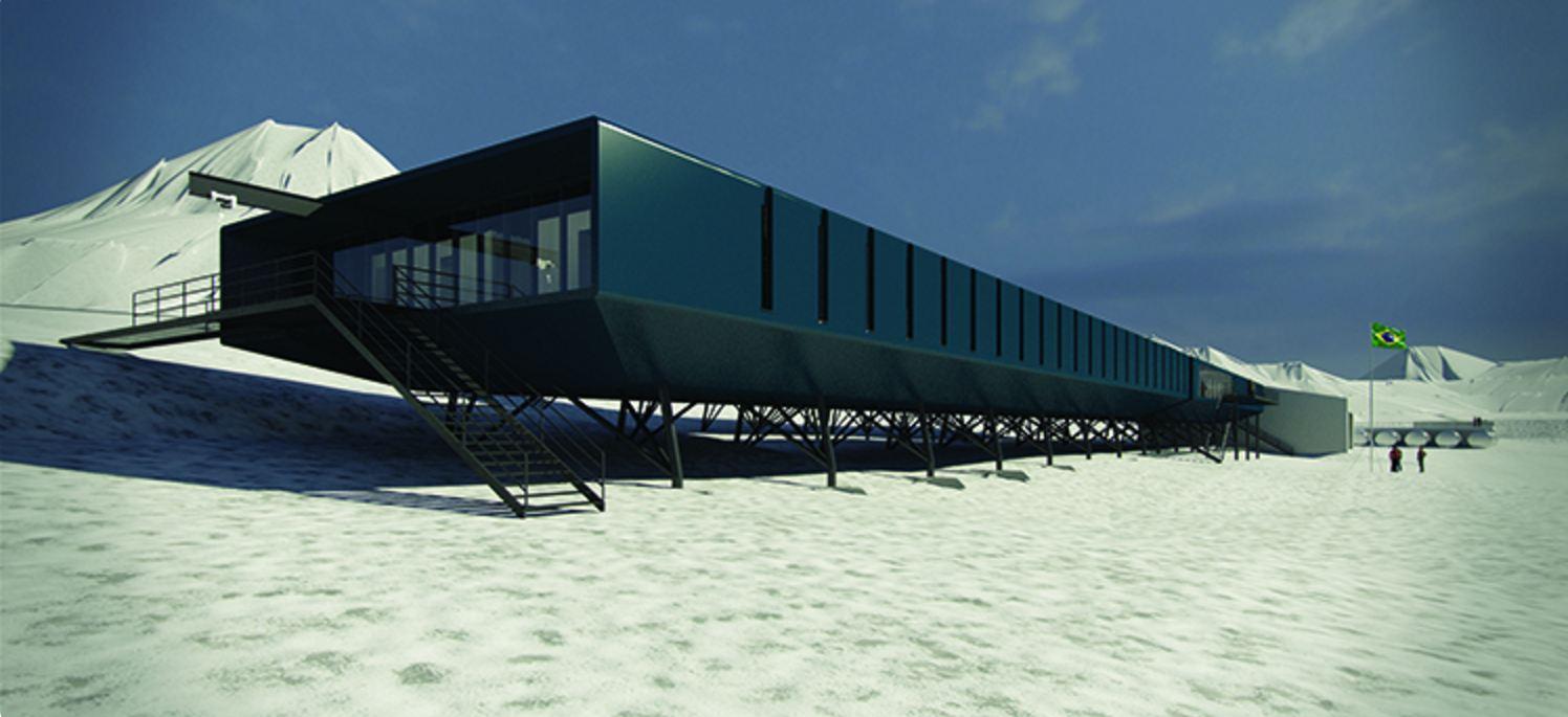 Estação antartida