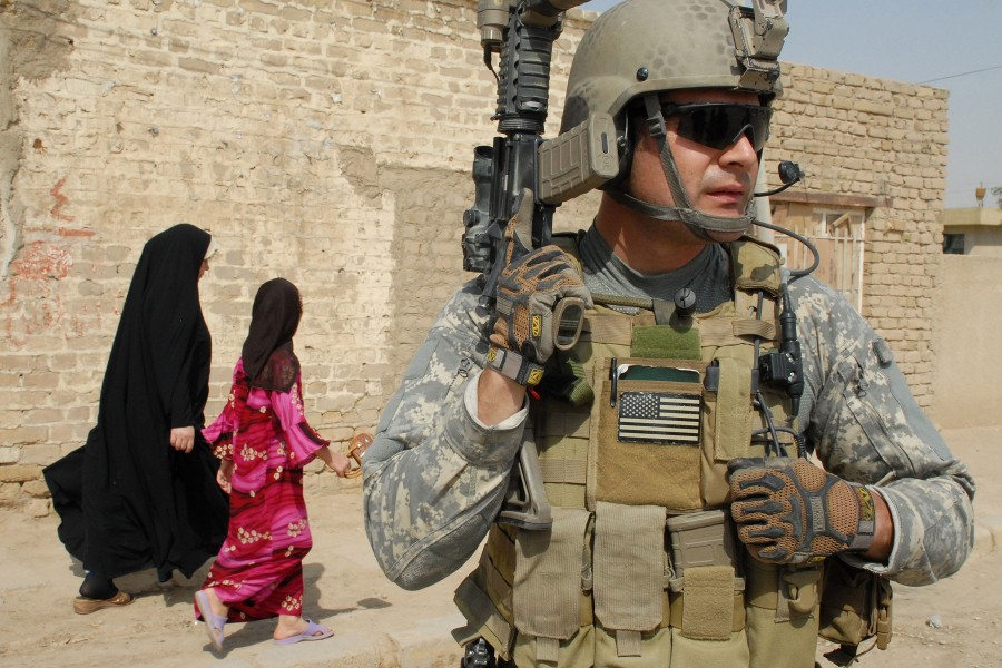 Team 621, Bravo Company, the 96th Civil Affairs Battalion