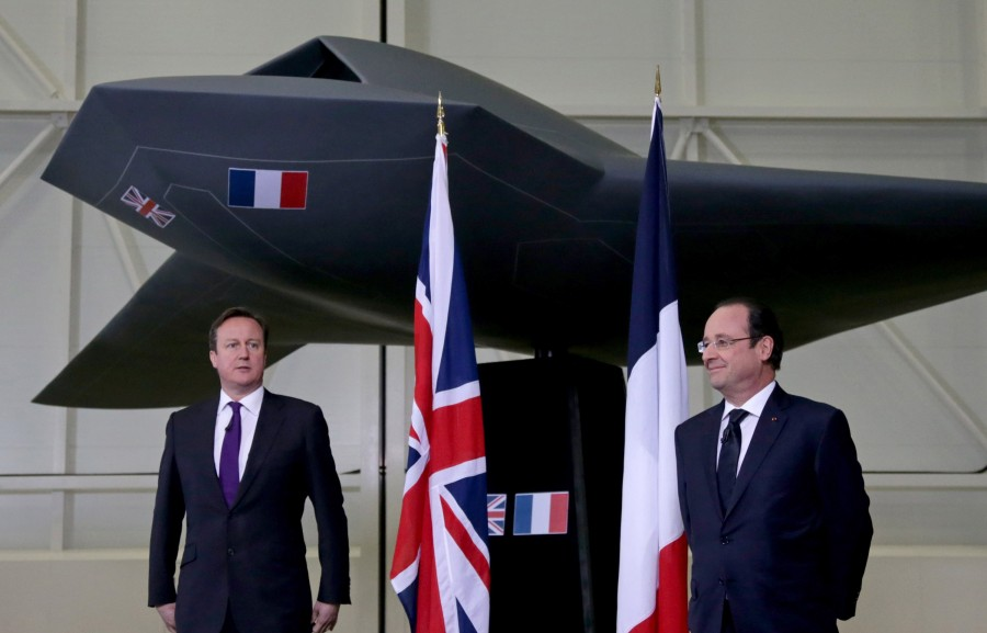 UK and France Drone