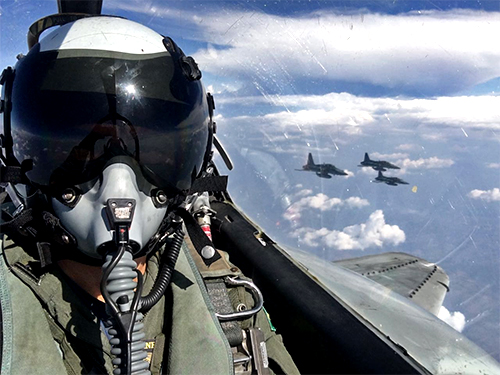 Aeronaves atuam em conjunto em Anápolis (GO)