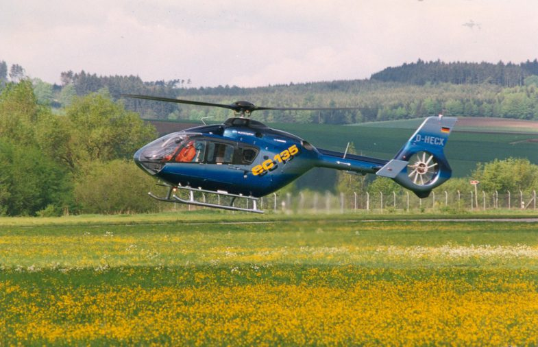 EC135 S1 First Flight 16.04.1994