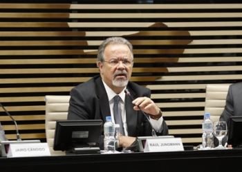 Ministro de Defesa Raul Jungmann na FIESP Foto: Helcio Nagamine/Fiesp