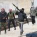 Rebeldes sírios Foto RFI