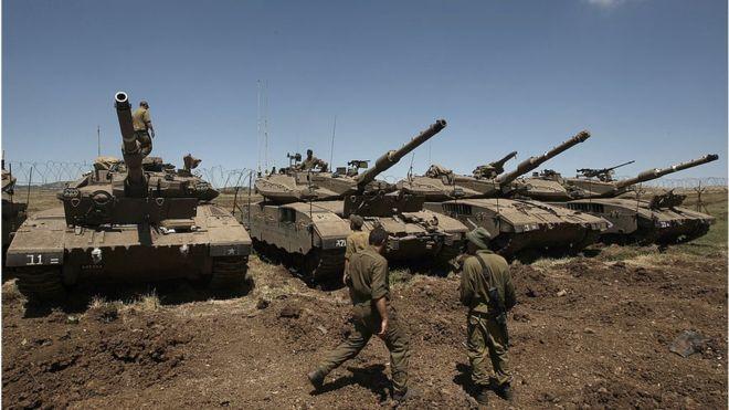 A fronteira norte de Israel voltou a ser considerada uma zona de conflito depois de vários anos de calma relativa