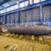 Submarino Classe Gotland recebendo o Mid Life Up Grade no estaleiro Kockums