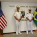 Contra-Almirante Sean Scott Buck e Vice-Almirante Celso Luiz Nazareth
