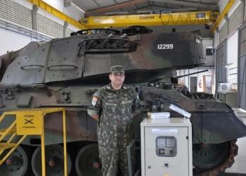 Phillipe Gomes Falcão Vilela é 2º Sargento do Quadro de Material Bélico/Manutenção de Armamento.